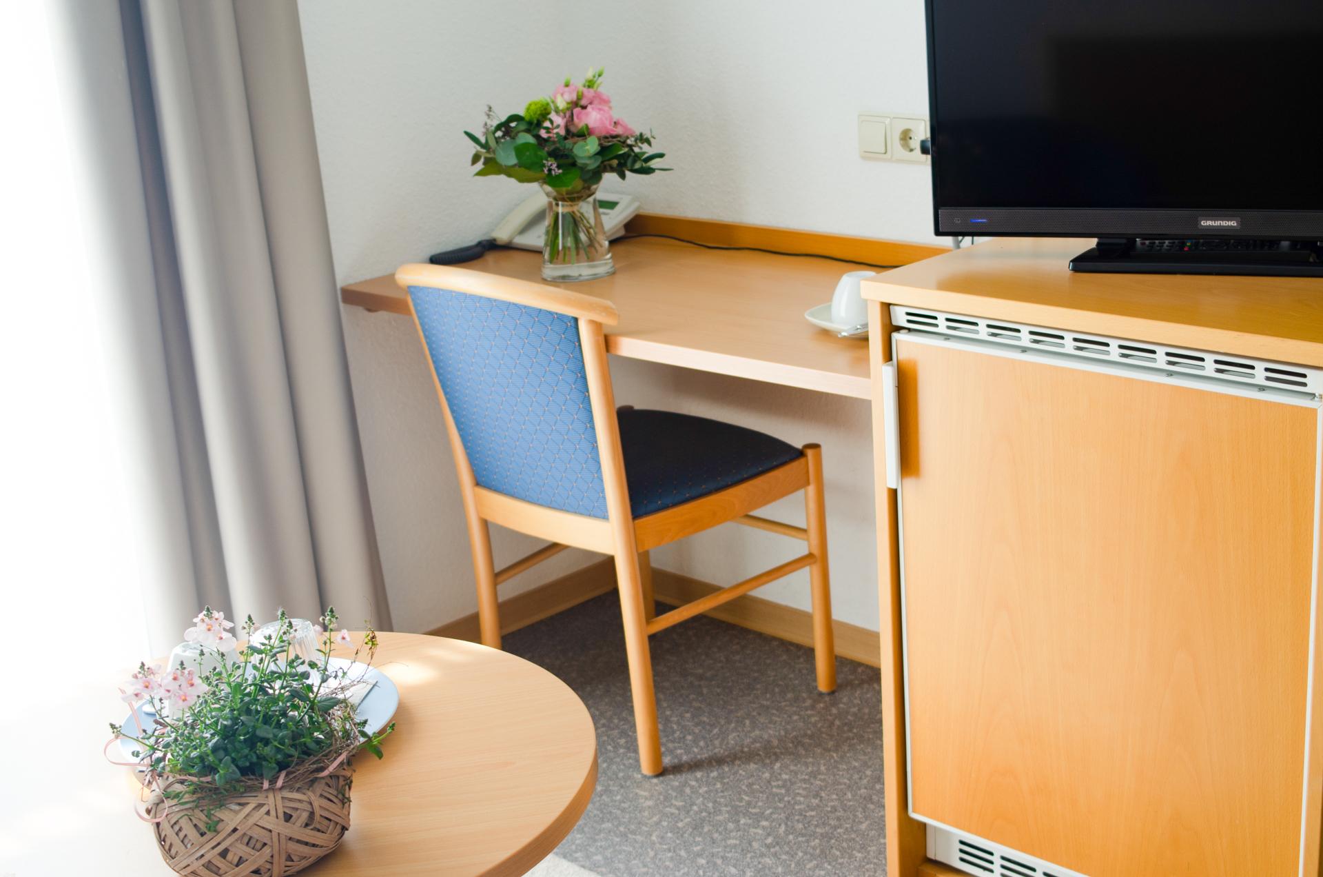 Das Gästehaus Scheuermann hat Zimmer mit Fernseher